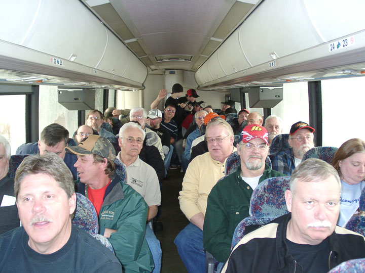 Back of the bus!